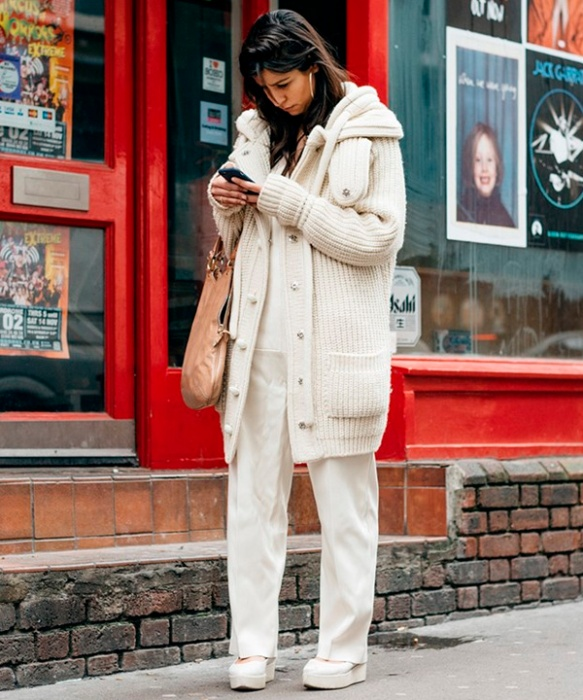 street-style-white-pants-coat-fashion-week